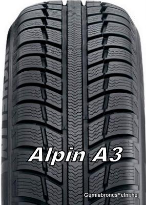 155/65R14 T Alpin A3 Michelin Téli gumi